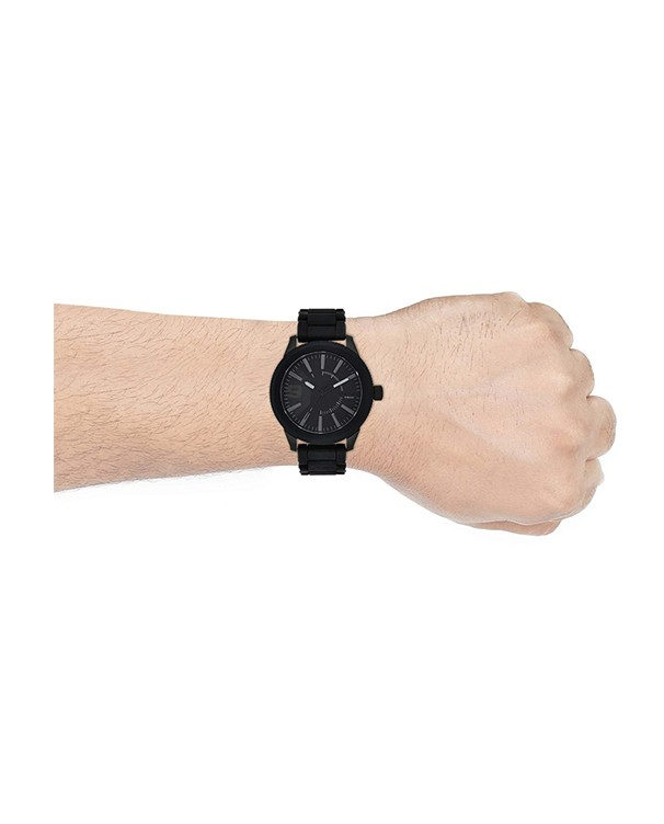 DIESEL Rasp Nsbb Round Analog Black Dial Men's Watch