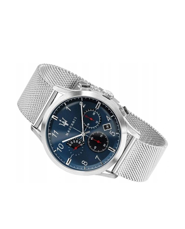Maserati Ricordo with Blue Dial & Stainless Steel Bracelet Men's Watch