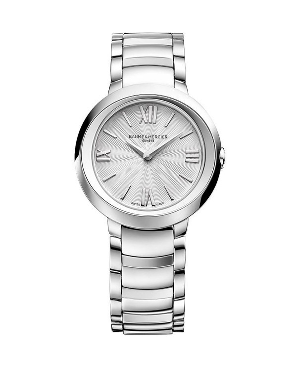 Baume & Mercier Promesse with Round Dial & Stainless Steel Bracelet Women's Watch