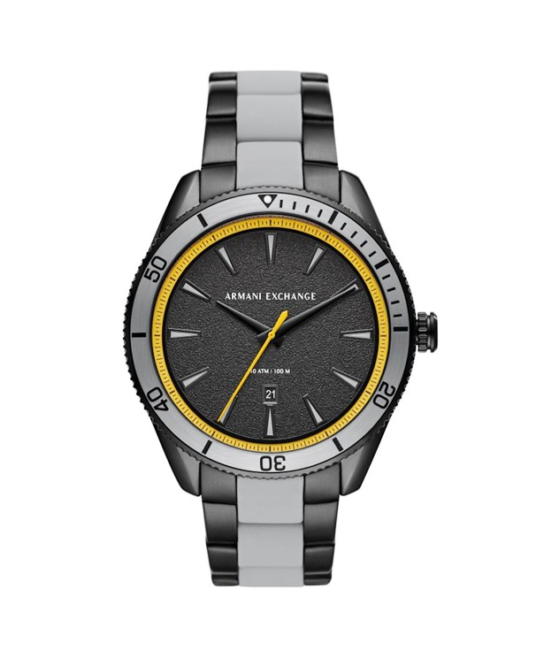 Armani Exchange Enzo with Black Dial Men's Watch