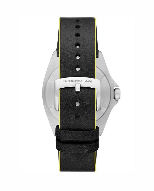 Emporio Armani Nicola with Black Dial Men's Watch