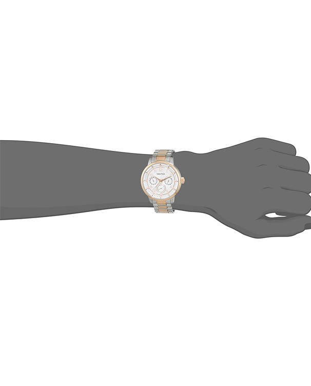 NAUTICA Multifunction with Silver Dial Women's Watch