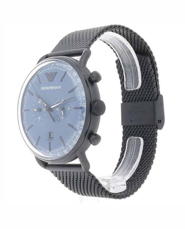 Emporio Armani Chronograph Blue Dial Men's Watch