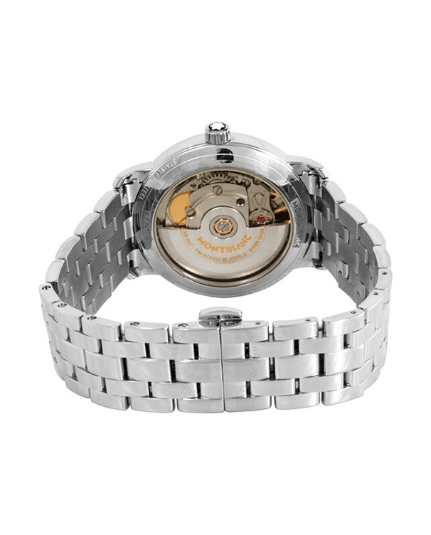 Montblanc Tradition with White Dial Men's Watch