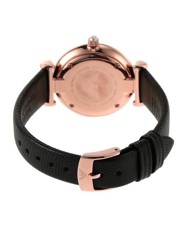 Emporio Armani Gianni T-Bar with Black Strap Men's Watch