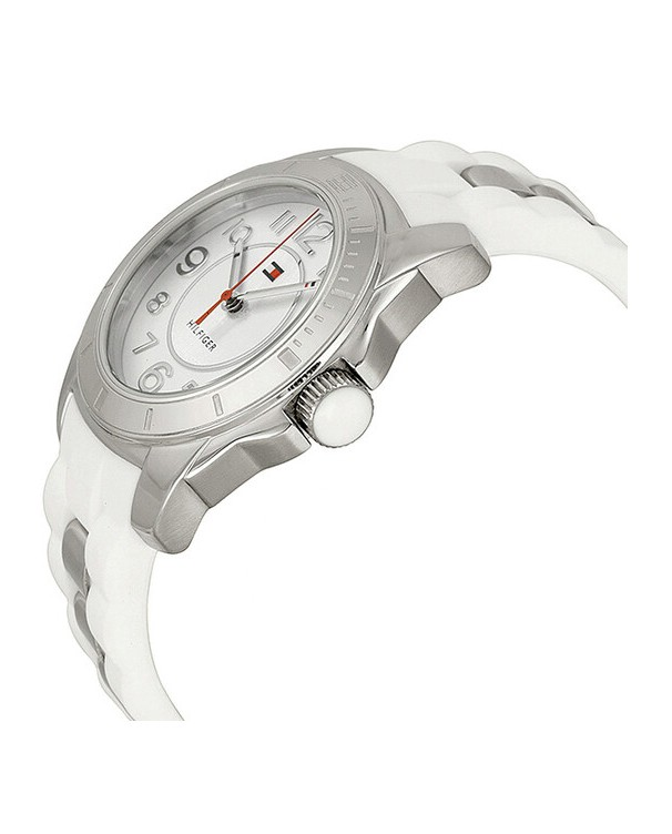 Tommy Hilfiger K2 with White Dial Women's Watch