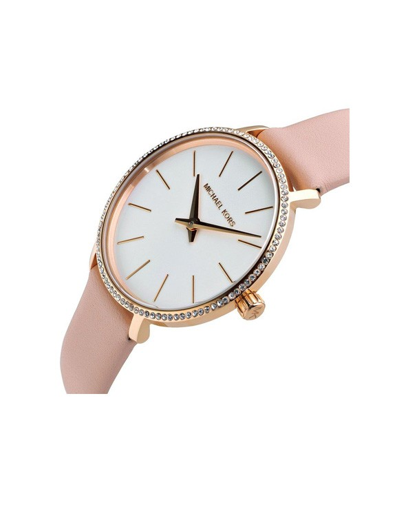Michael Kors Pyper with Leather Strap Women's Watch