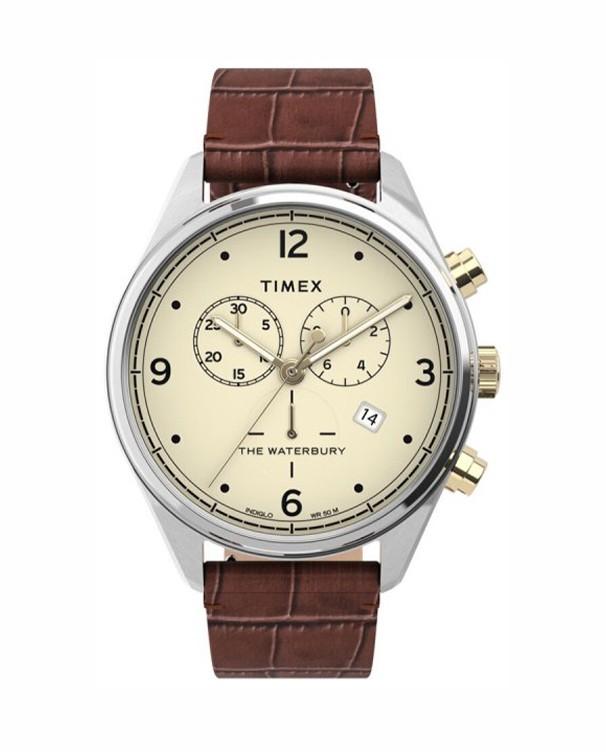 Hodinky TIMEX WATERBURY with Chronograph Gents Watch