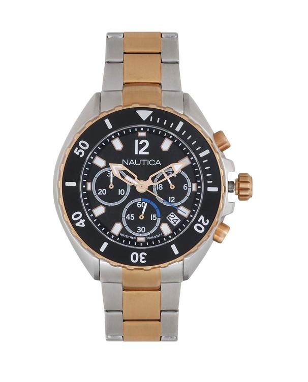 NAUTICA Chronographwith Multicolour Bracelet Men's Watch