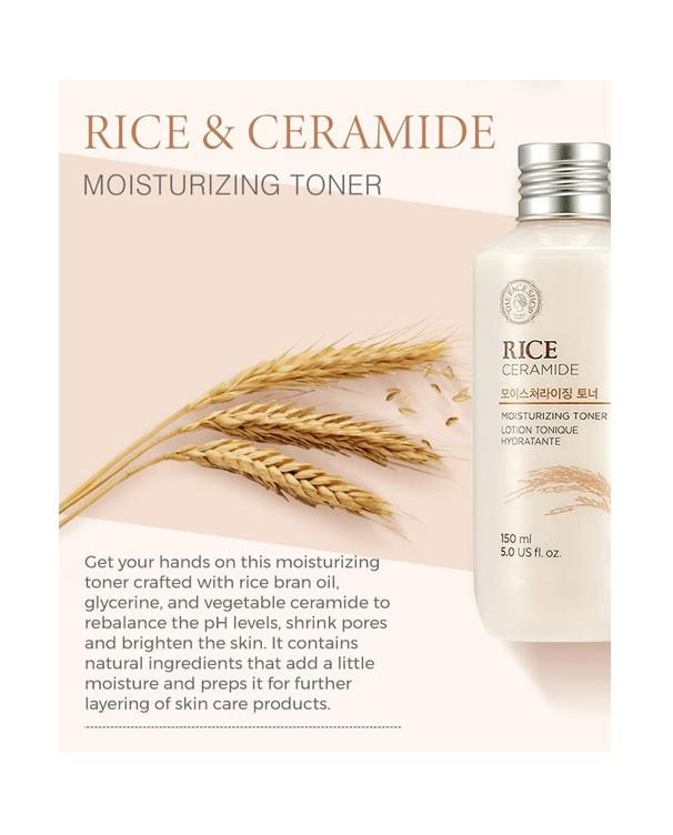 Rice Ceramide Moisturizing Toner 150ml