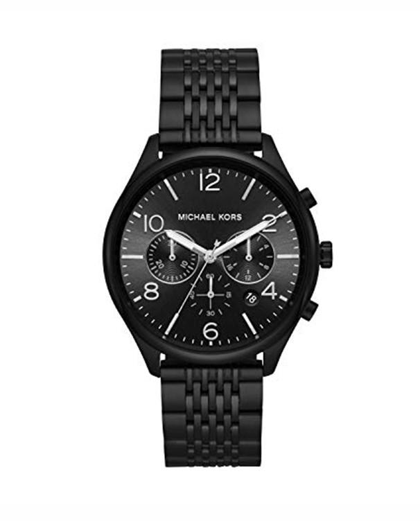 Michael Kors Merrick with Black Dial Men's Watch