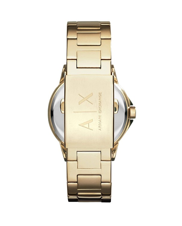 Armani Exchange Lady Banks with Gold Stainless Steel Bracelet Women's Watch