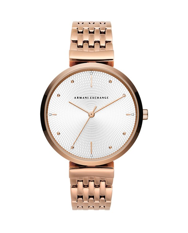 Armani Exchange Zoe with White Dial Men's Watch