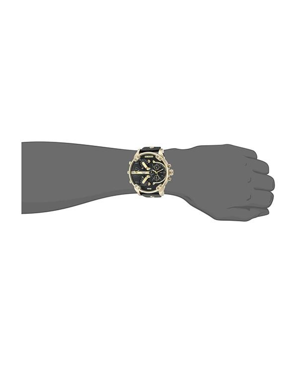 DIESEL MR. DADDY 2.0  with Black Strap Men's Watch
