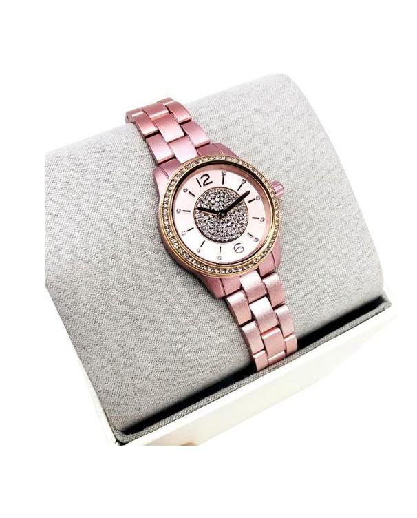 Michael Kors Runway with Rose Gold Bracelet Women's Watch