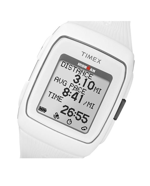 TIMEX IROMAN GPS with White Strap Men's Watch