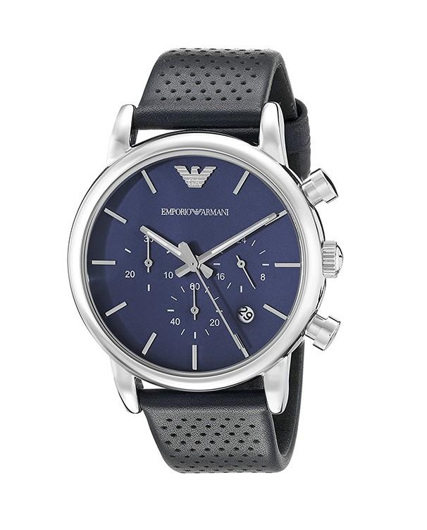 EMPORIO ARMANI EA2 with Blue Dial  Men's Watch