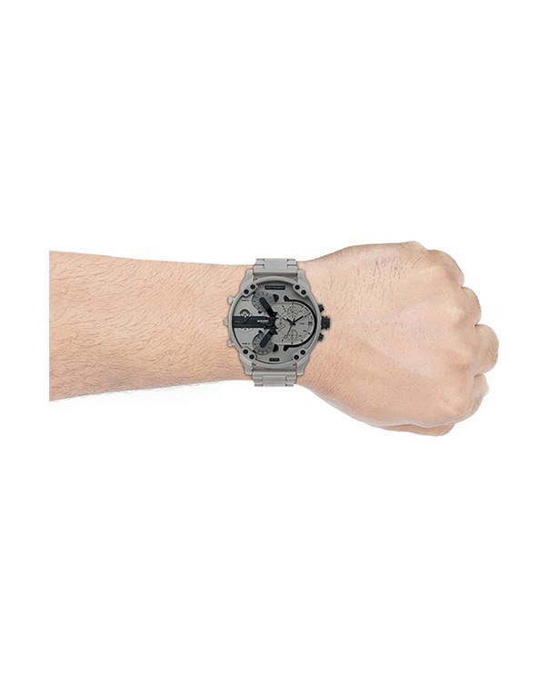 DIESEL Mr. Daddy with Silver Dial Men's Watch