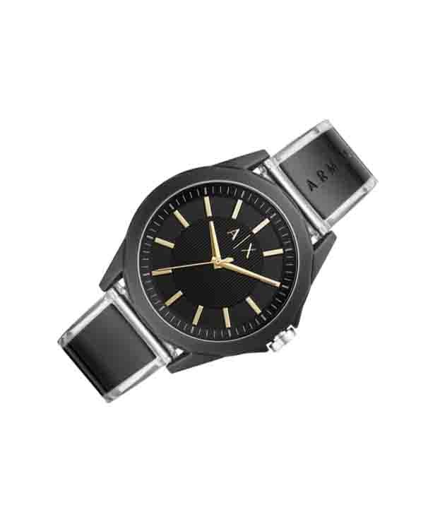 Armani Exchange Drexler with Black Dial Men's Watch
