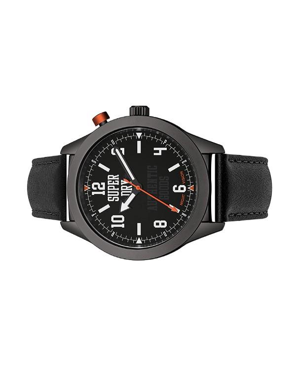 Superdry Authentic Goods Black Dial Men's Watch