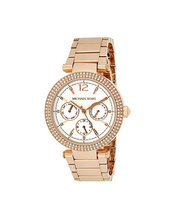MICHEAL KORS PARKER with White Dial Lady's Watch