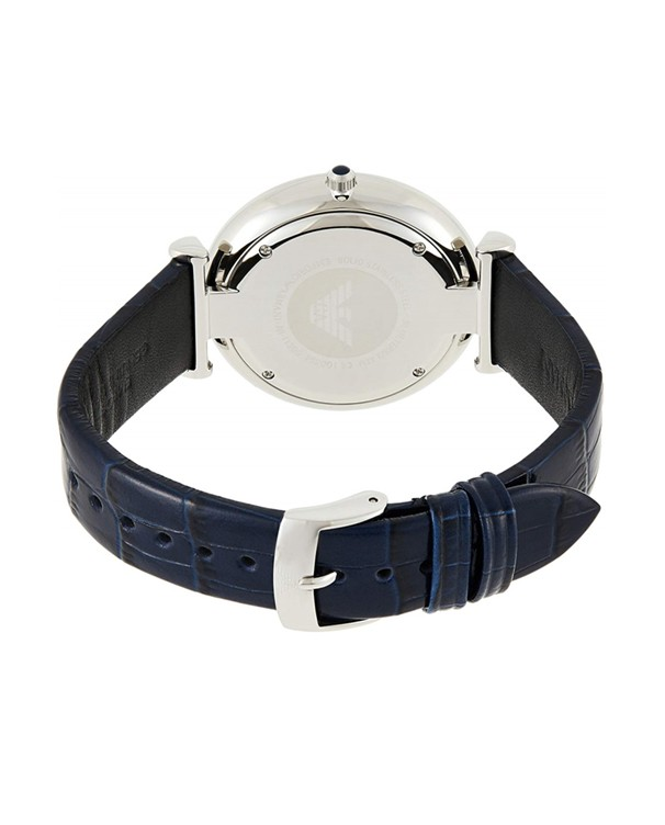 Emporio Armani Gianni T-Bar with Blue Dial Men's Watch